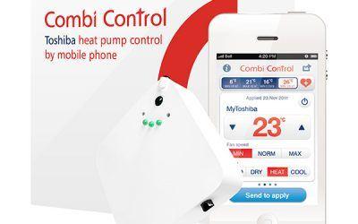 Ovládání klimatizace přes telefon pomocí INFRA OVLADAČE S GSM BRÁNOU